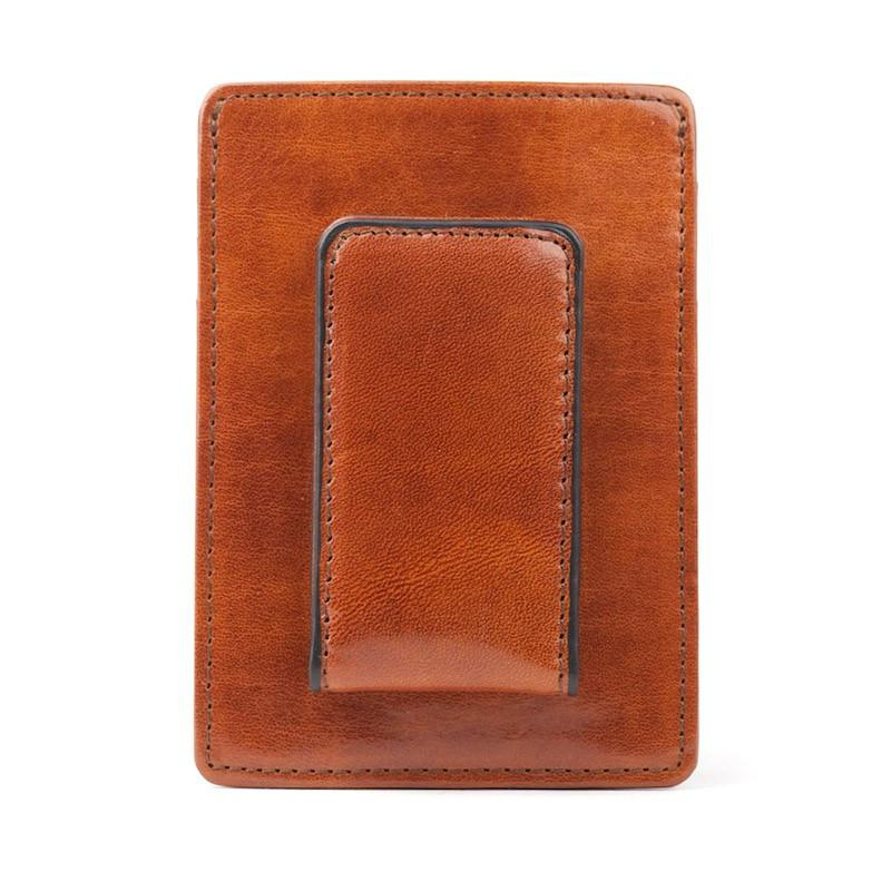 Amber Old Leather Classic Front Pocket Wallet,WALLETS,GentRow.com, | GentRow.com