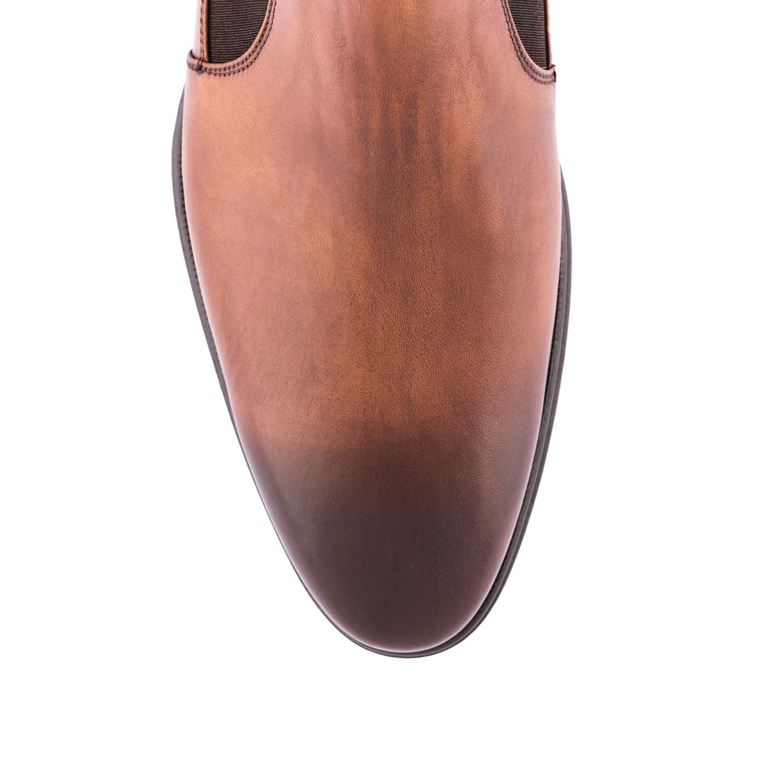 Brown Leather Chelsea Boots 80120-BN