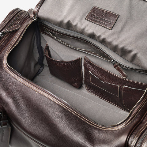 American Grain Collection - Half Moon Zip Duffle Bag