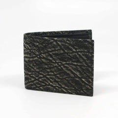Genuine Elephant Billfold Wallet - Charcoal,WALLETS,GentRow.com, | GentRow.com