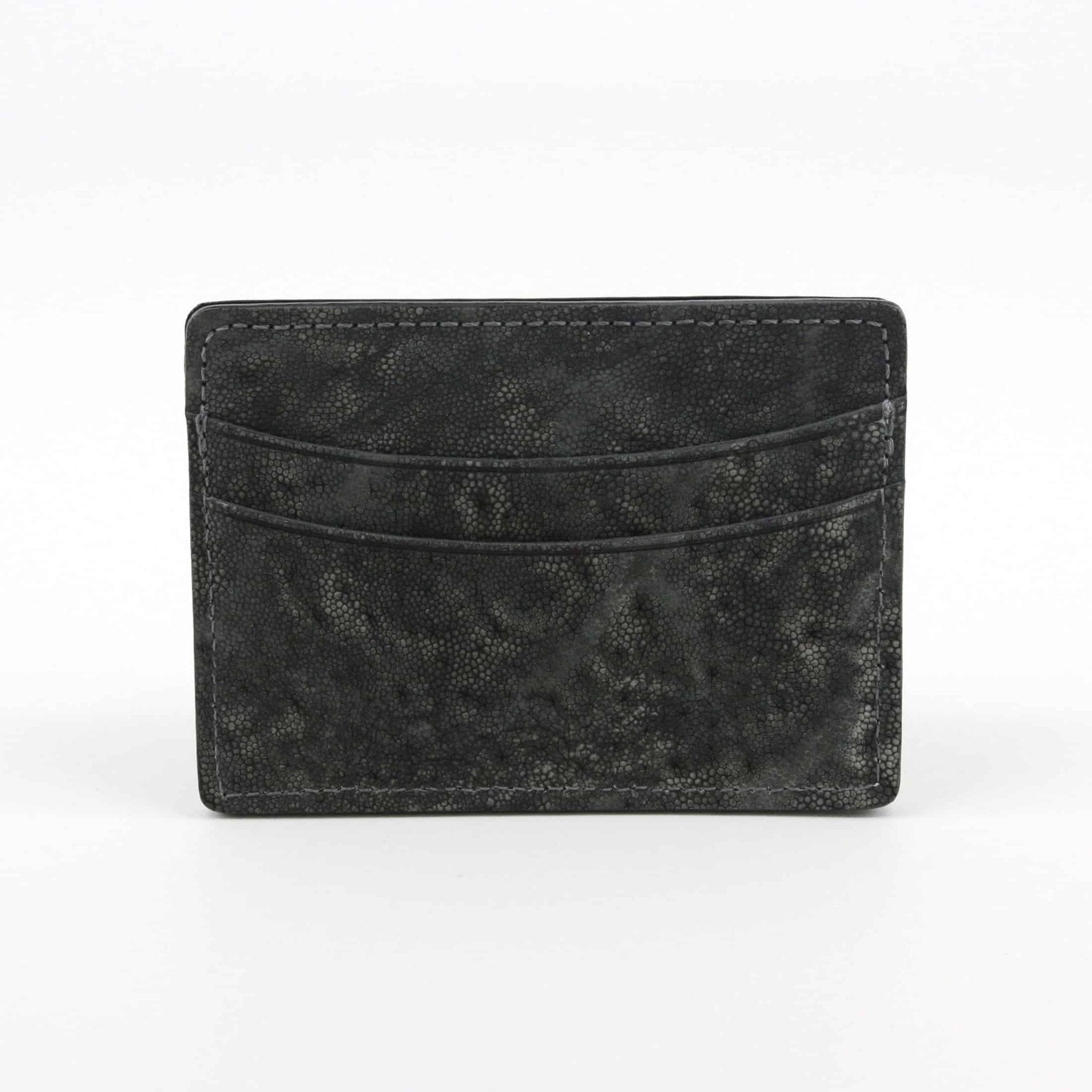 Genuine Elephant Cardcase - Charcoal,WALLETS,GentRow.com, | GentRow.com