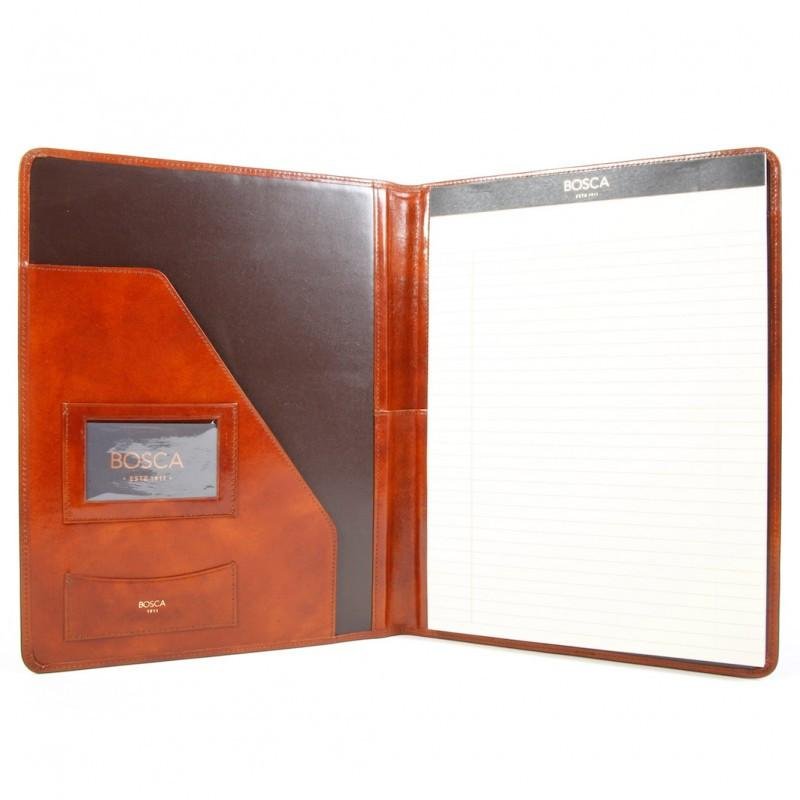 Amber Old Leather Classic Writing Pad Cover,Cover,GentRow.com, | GentRow.com