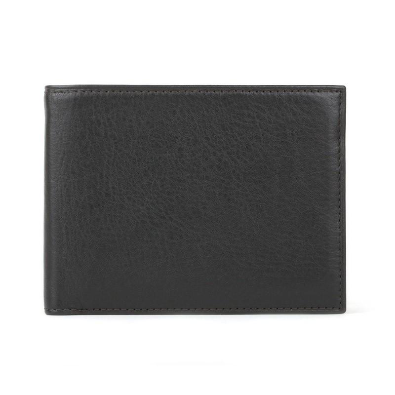 Black Nappa Vitello Executive ID Wallet,WALLETS,GentRow.com, | GentRow.com