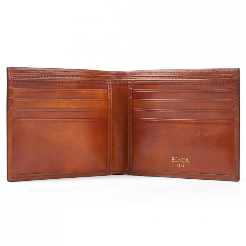 Amber Old Leather Classic 8 Pocket Wallet,WALLETS,GentRow.com, | GentRow.com