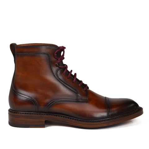 ANTONIO LEATHER LACE-UP BOOT