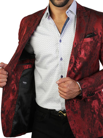 BLAZER BEETHOVEN SHADE RED