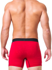 BOXER SOLID RED