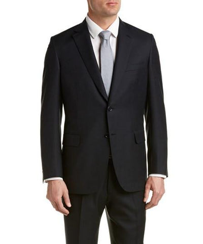 Brioni Wool Suit With Flat Front Pant