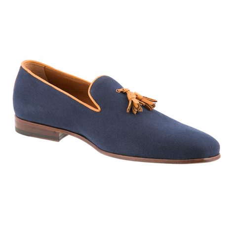 Classico - Navy and Tan
