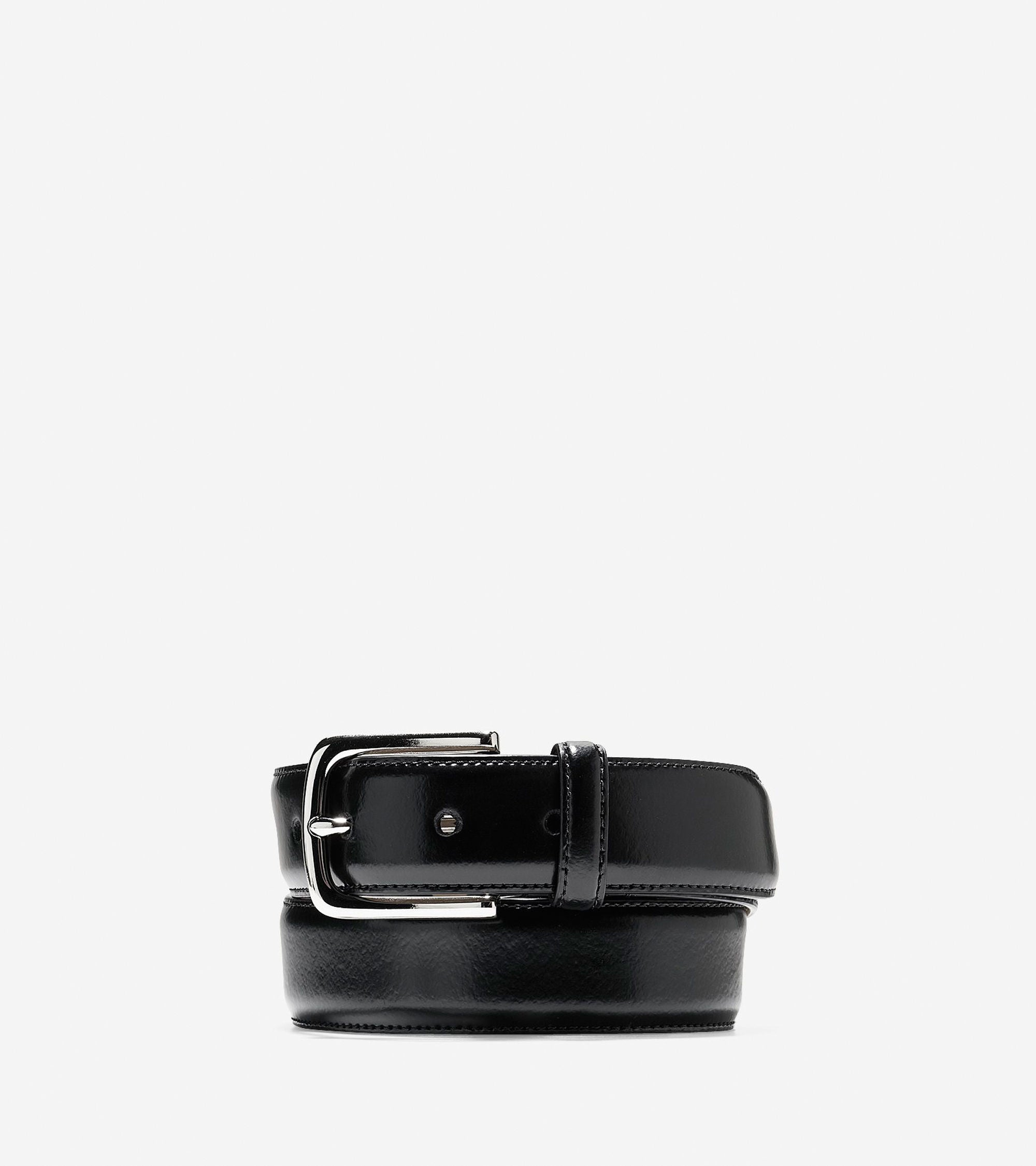 32mm Shine Dress Belt,BELT,Cole Haan, | GentRow.com