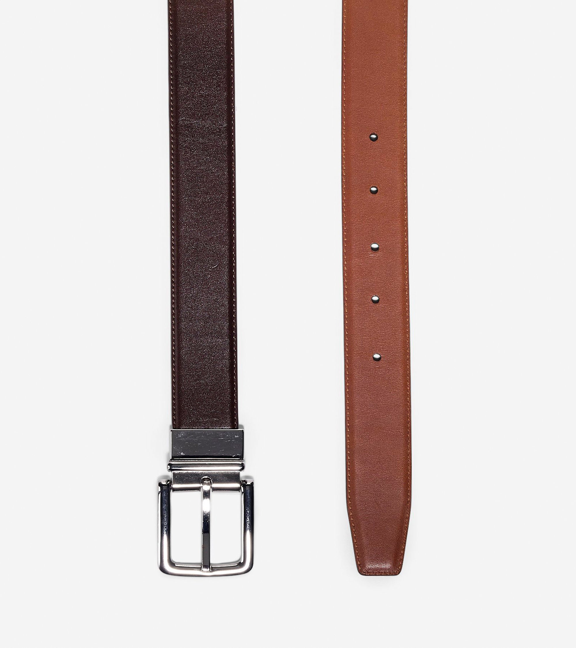 32mm Reversible Dress Leather Belt,BELT,Cole Haan, | GentRow.com