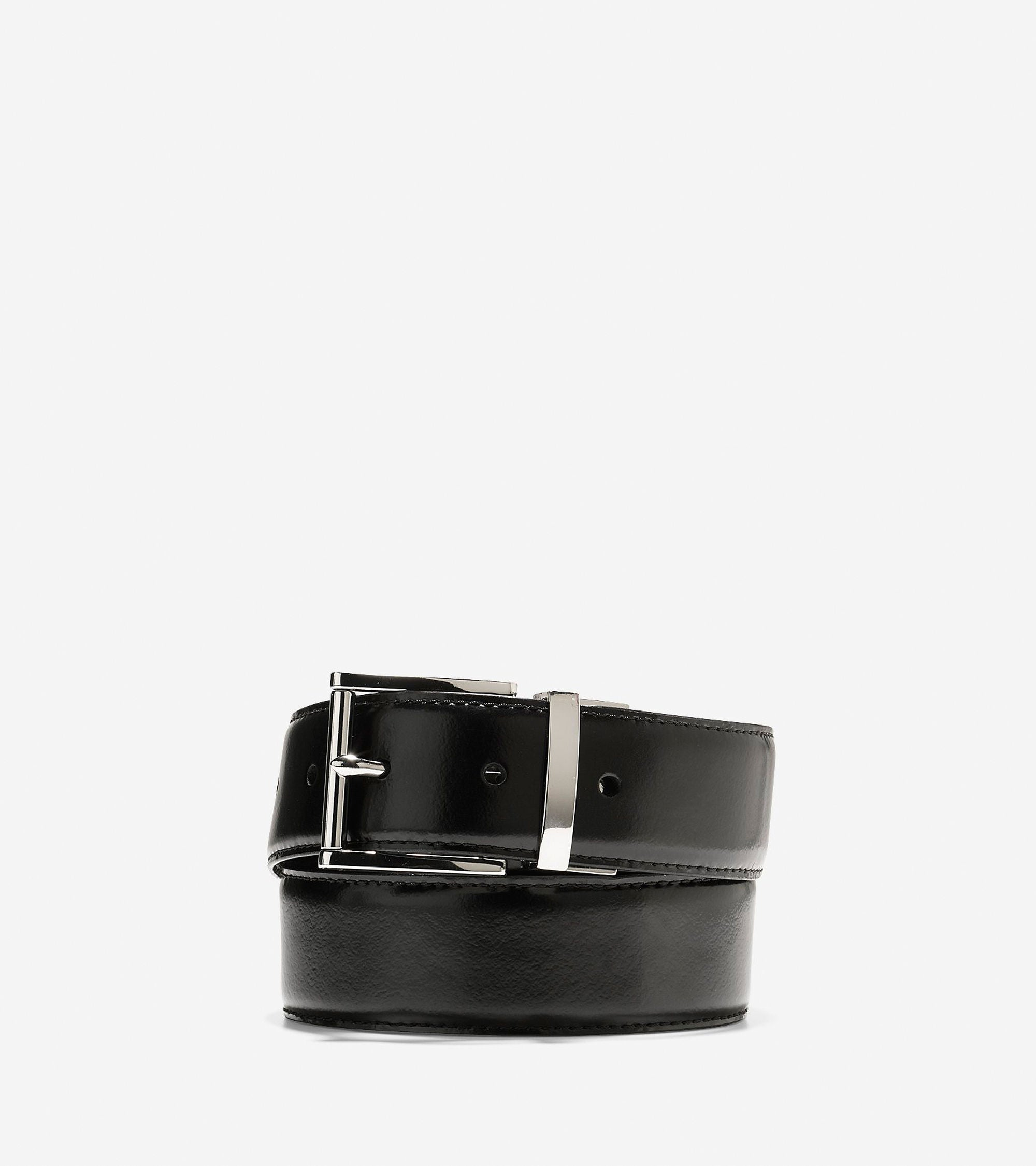 35mm Reversible Feather Edge Belt,BELT,Cole Haan, | GentRow.com