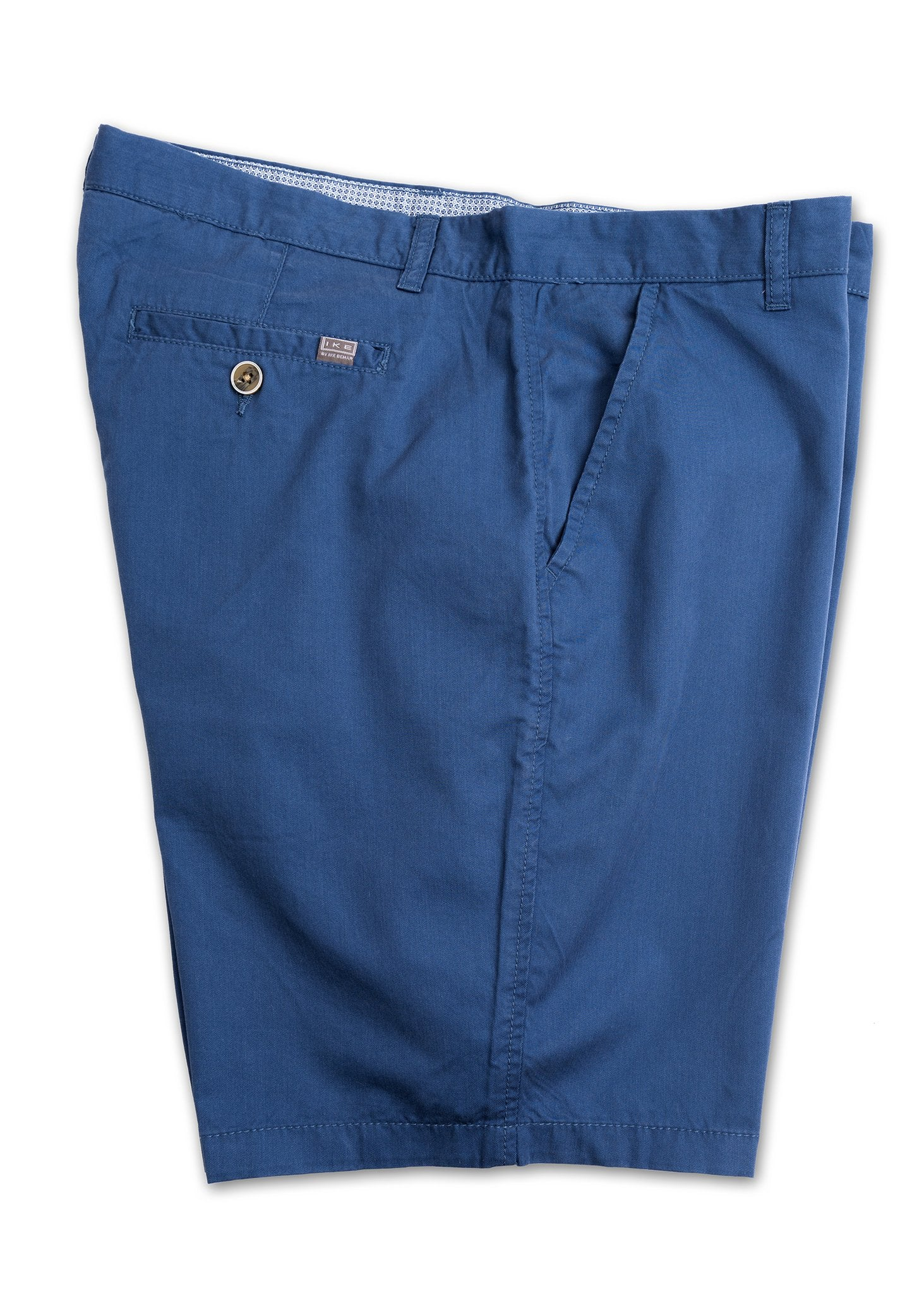 Flat Front Midnight Blue Shorts