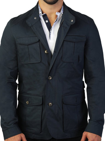 JACKET HUNTER NAVY