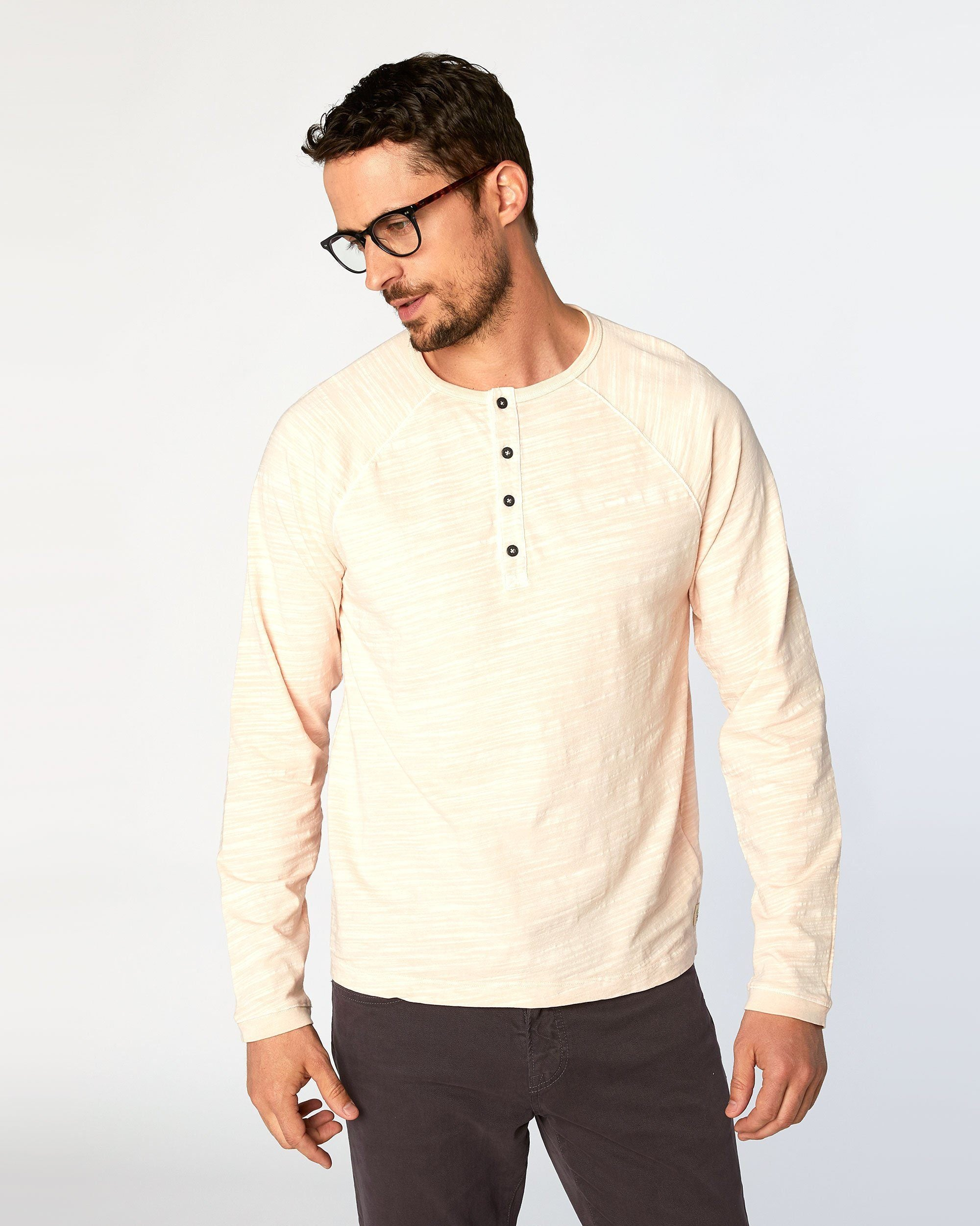 Bird Dog Slub Jersey Henley