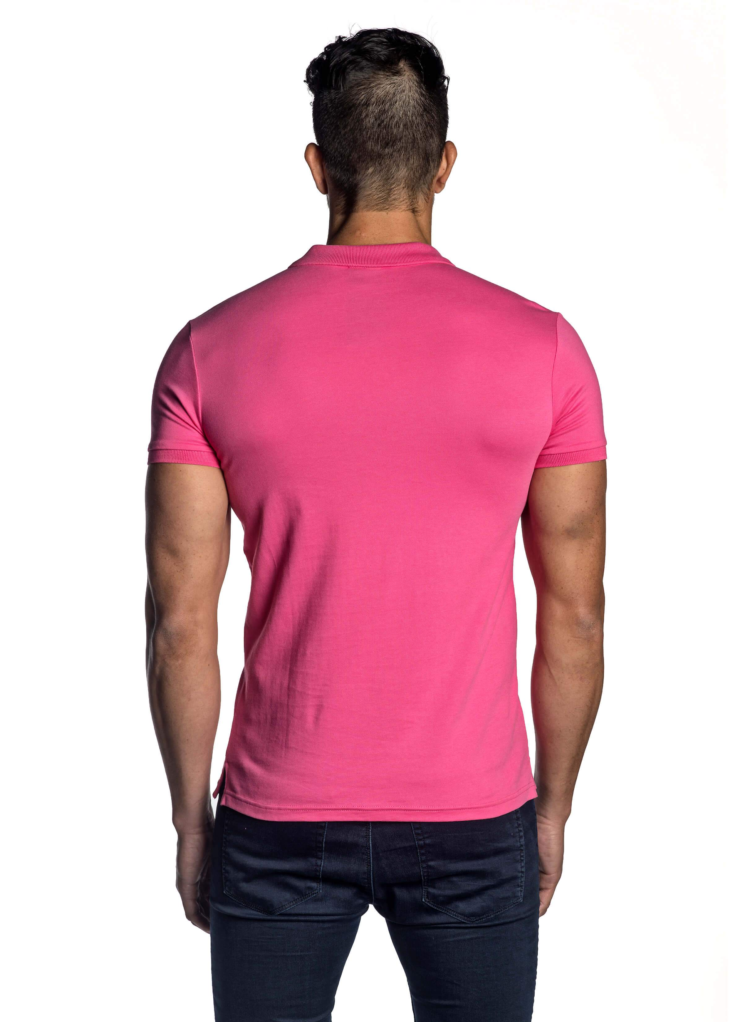 Fuchsia Short Sleeve Polo for Men PS-5003