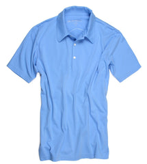 POLO SKY BLUE SHORT SLEEVES POSS-5012,POLOS,GEORG ROTH, | GentRow.com