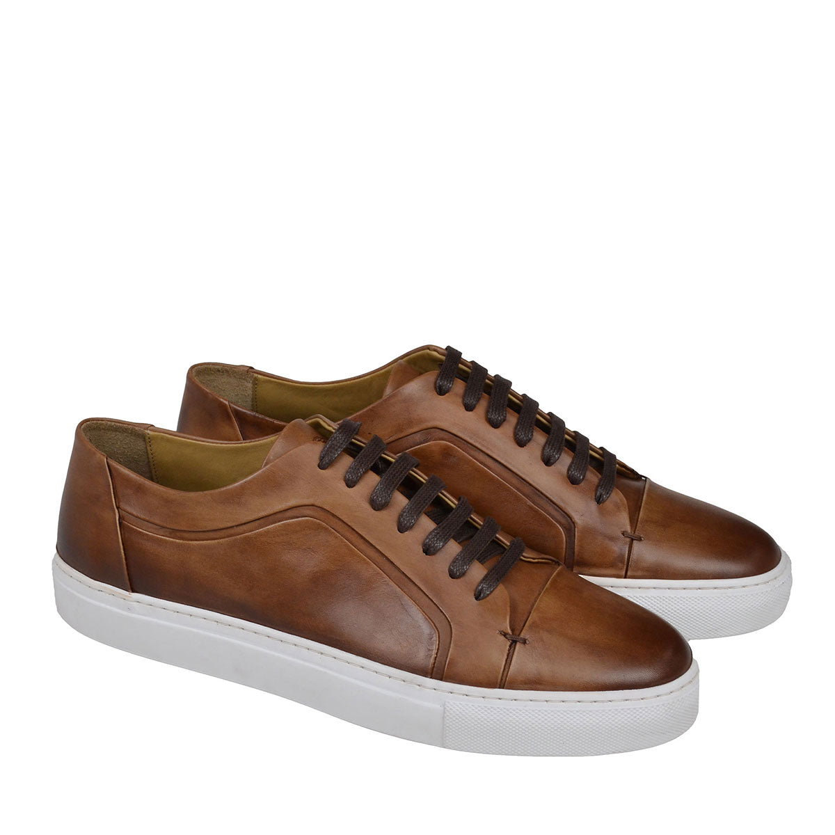 SALVINI LEATHER SPORT LACE-UP