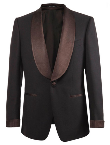 Signature - Formal Chocolate Brown Dinner Jacket,SPORT COATS,Gent Row, | GentRow.com