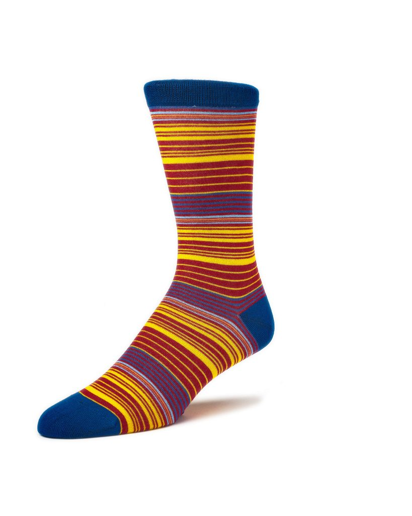 SOCKS KTD ORANGE NAVY YELLOW