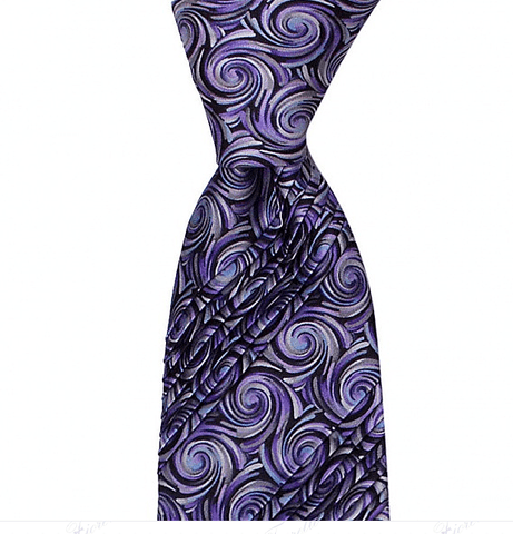 EIGHT PLEAT SPECIAL TIE SILK TIE 8,5CM