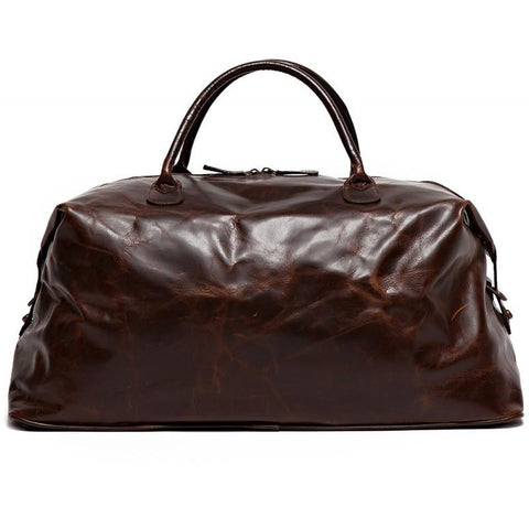Benedict Weekend Bag in Brompton Brown