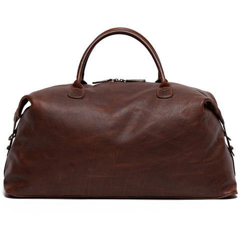 Benedict Weekend Bag in Titan Milled Brown