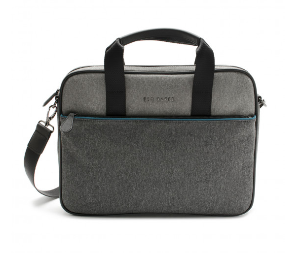 MAKA CORE NYLON GRAY DOCUMENT BAG,BAGS,CUFFLINKS, | GentRow.com