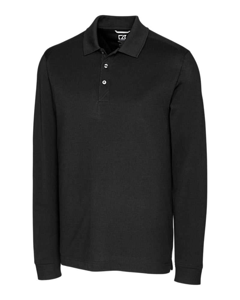 Advantage Long Sleeve Polo,POLOS,Cutter Buck, | GentRow.com
