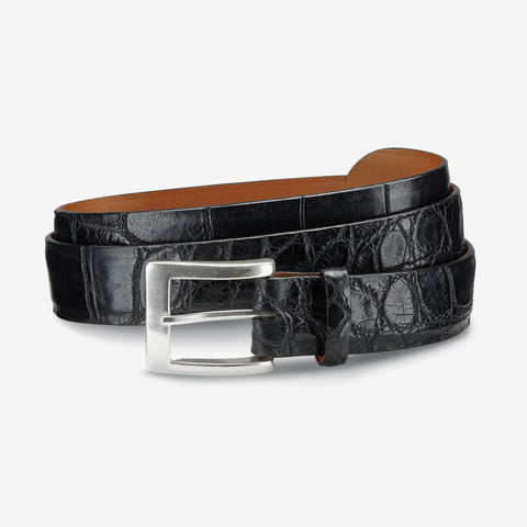 American Alligator Dress Belt