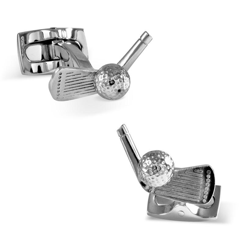 Golf Club Cufflinks,CUFFLINKS,GentRow.com, | GentRow.com