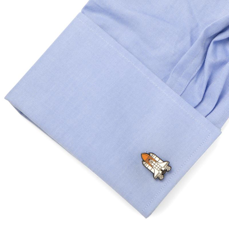 Space Shuttle Cufflinks,CUFFLINKS,GentRow.com, | GentRow.com
