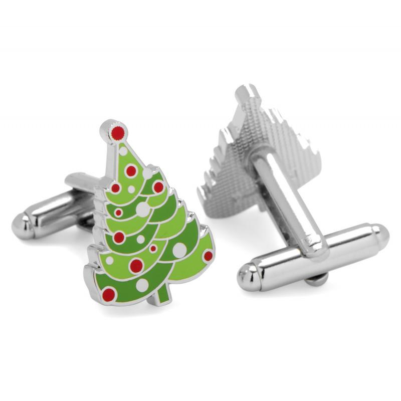 Christmas Tree Cufflinks,CUFFLINKS,GentRow.com, | GentRow.com