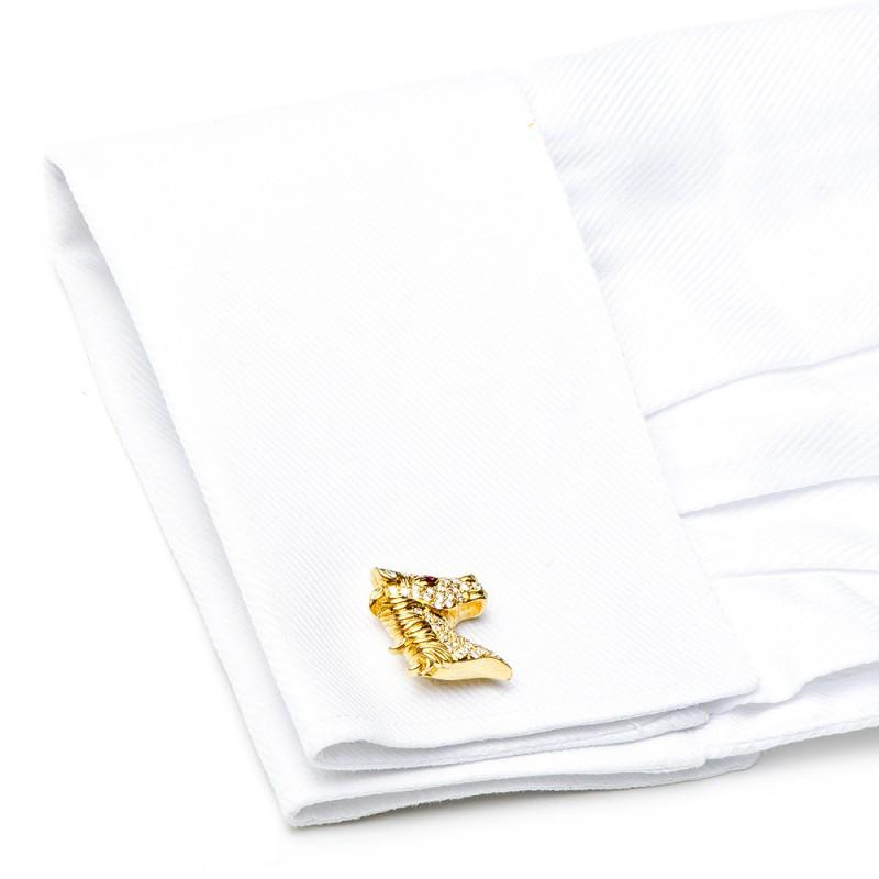 Diamond Stallion Cufflinks,CUFFLINKS,Jacob & Co, | GentRow.com