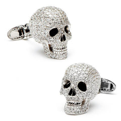 Diamond Skull Cufflinks,CUFFLINKS,Jacob & Co, | GentRow.com