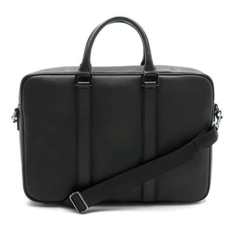 Black Leather Briefcase Bag