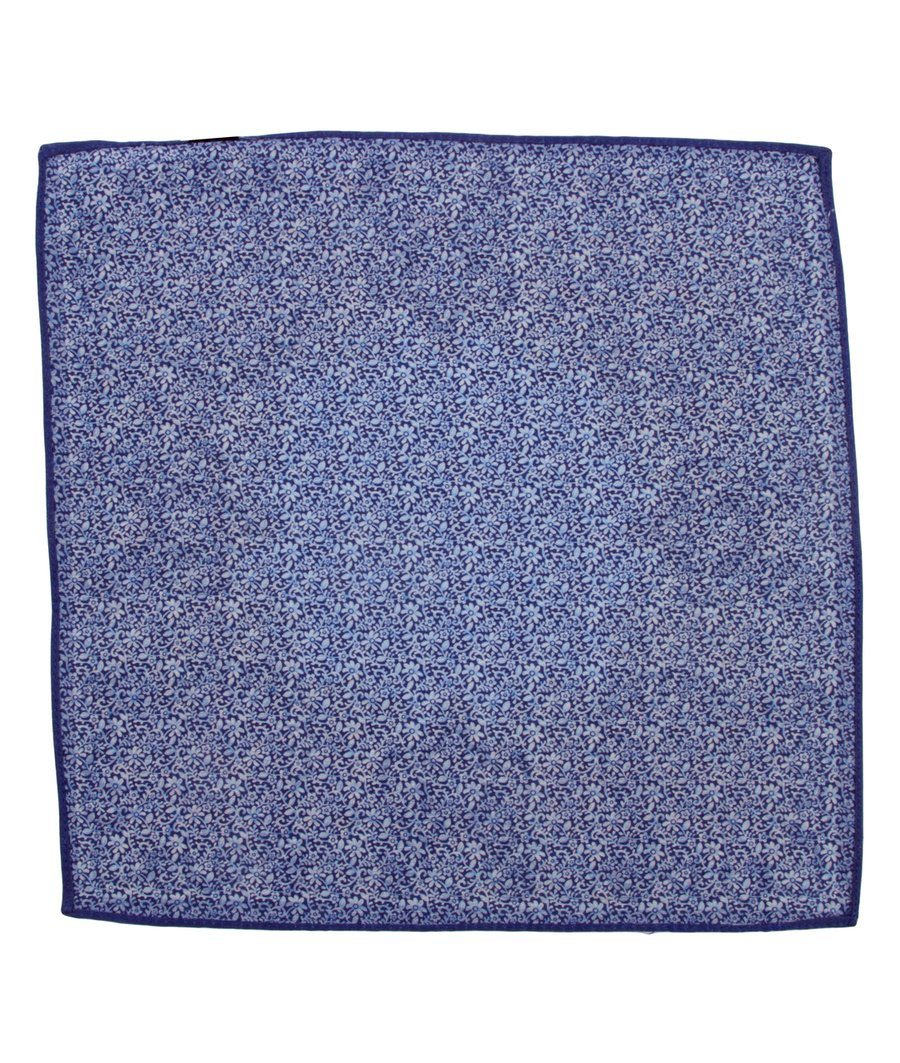 POCKET SQUARE BLUE 1050,POCKET SQUARE,GEORG ROTH, | GentRow.com