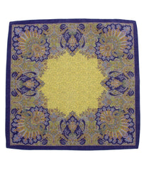 POCKET SQUARE YELLOW 2250,POCKET SQUARE,GEORG ROTH, | GentRow.com