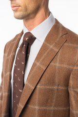 Teak Window Pane Sport Coat