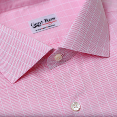 Pink Houndstooth Check