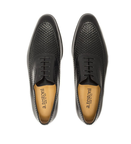 KANGAROO LEATHER LACE-UP