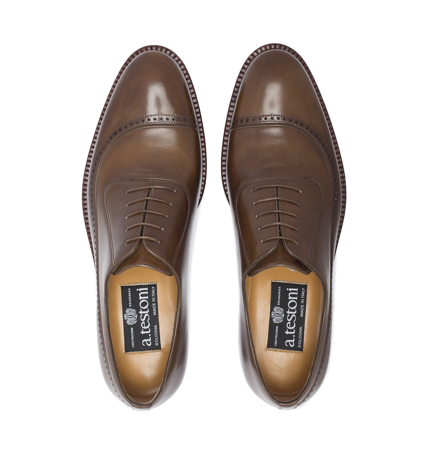 """EXPERIMENTAL"" LEATHER LACE-UP,SHOES,A.TESTONI, 