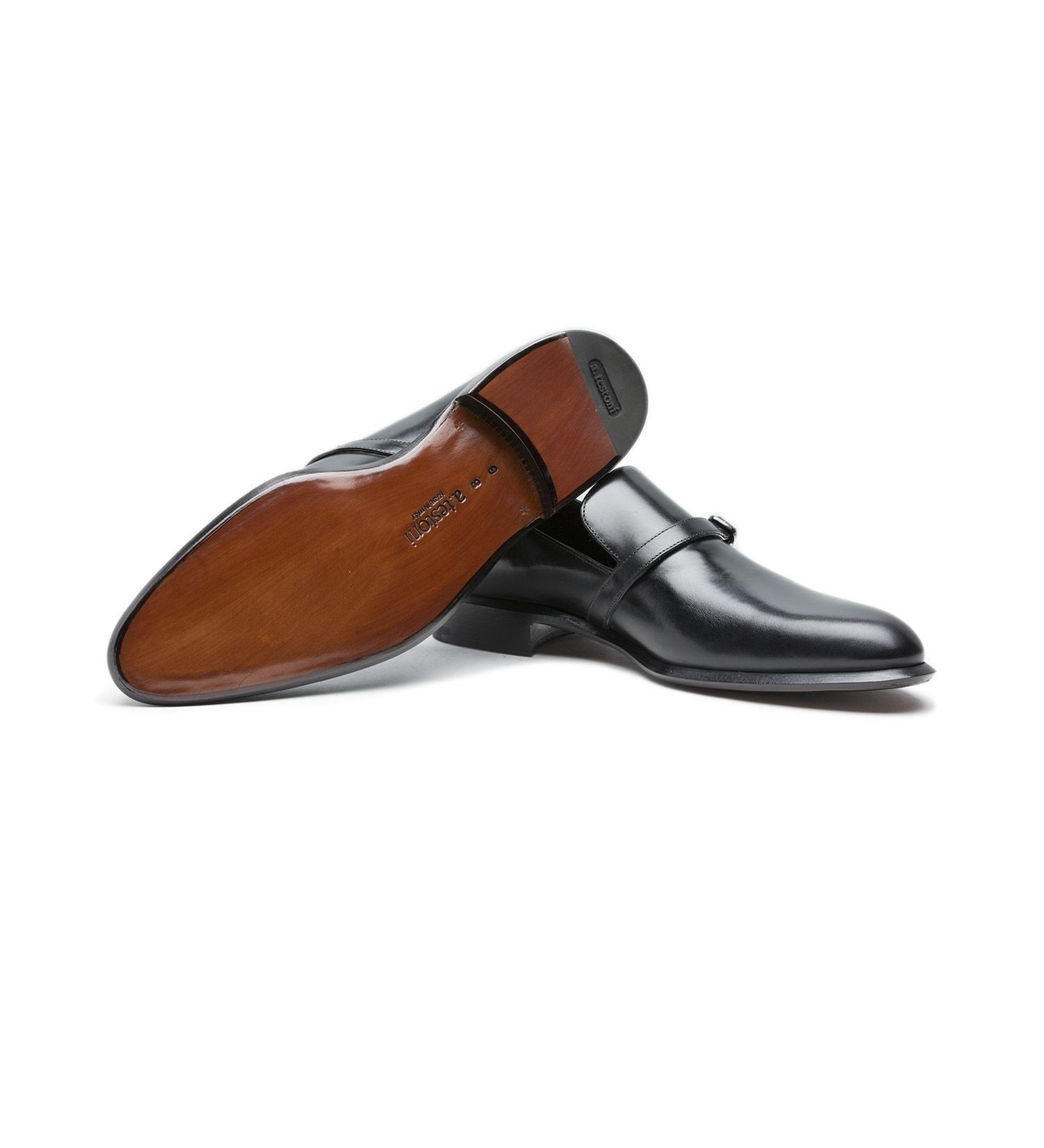 LEATHER SLIP-ON,SHOES,A.TESTONI, | GentRow.com