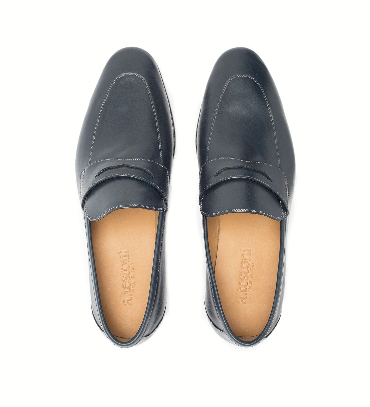 EXTRA-FLEXIBLE SLIP-ON,SHOES,A.TESTONI, | GentRow.com