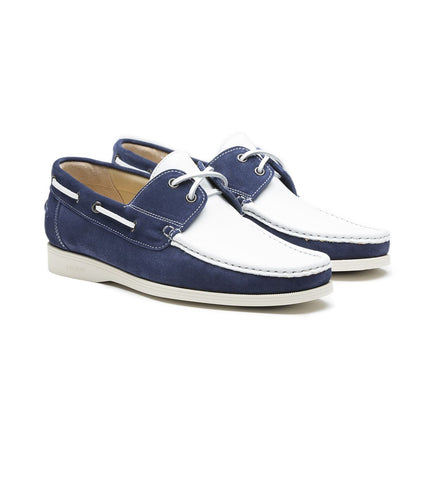 BOAT SHOE IN SUEDE