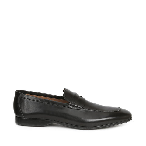 MARGOT CALF-LEATHER PENNY LOAFER