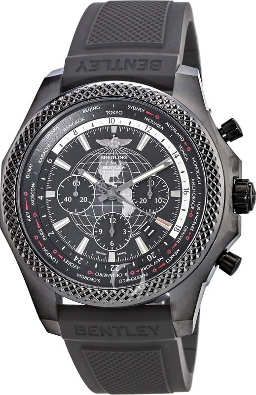 Breitling Bentley B05 Unitime Blacksteel Royal Ebony Men's Watch,Watches,BREITLING, | GentRow.com