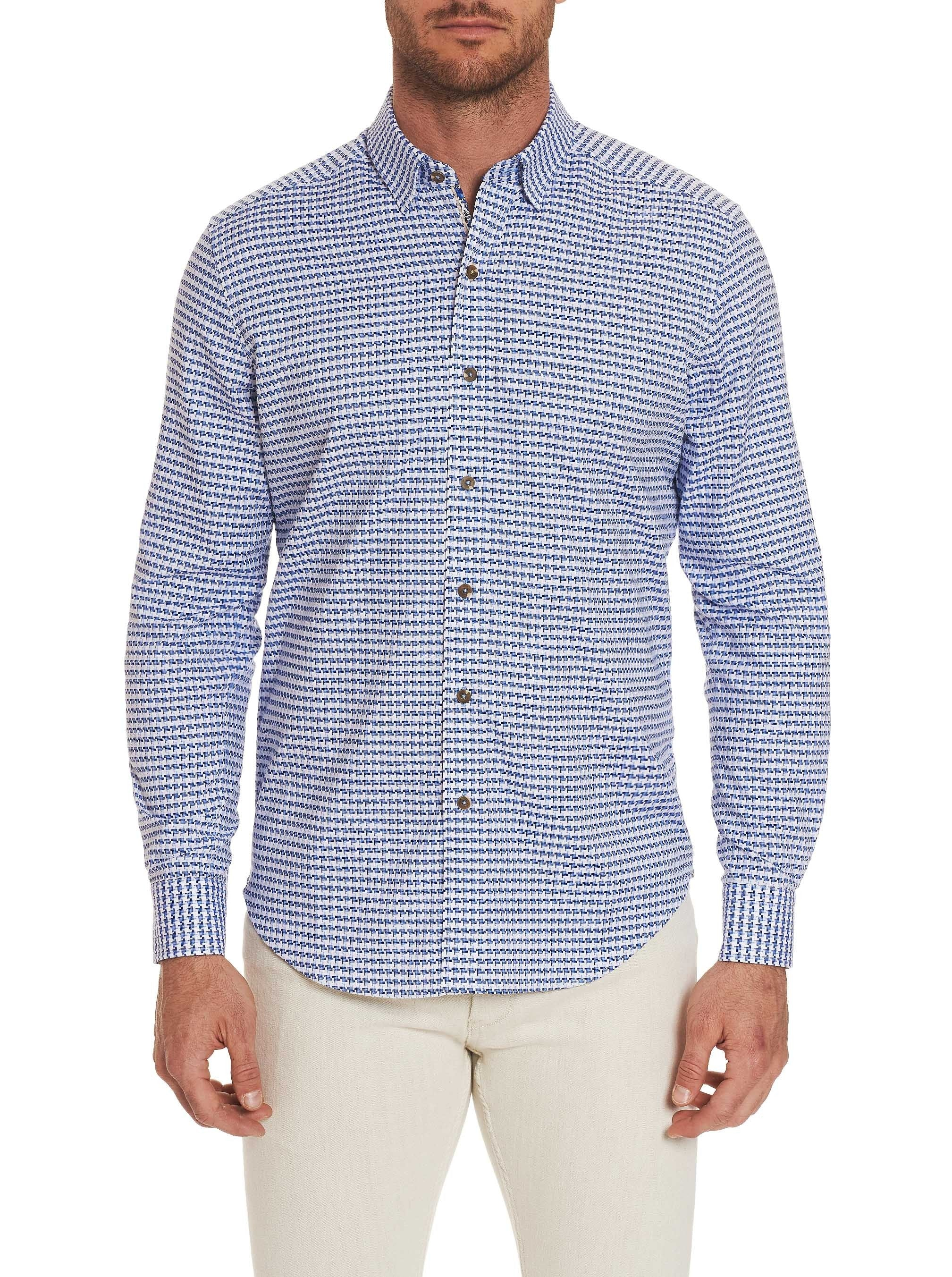 TAILORED FIT CANVEY SPORT SHIRT