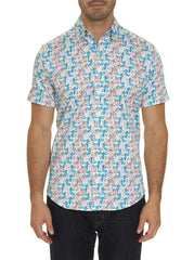 COCKTAILS SHORT SLEEVE SHIRT TALL FIT