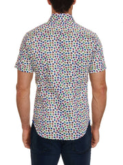 TAILORED FIT TURTLES SHORT SLEEVE SHIRT